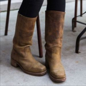 FRYE leather Campus Boots 7 1/2
